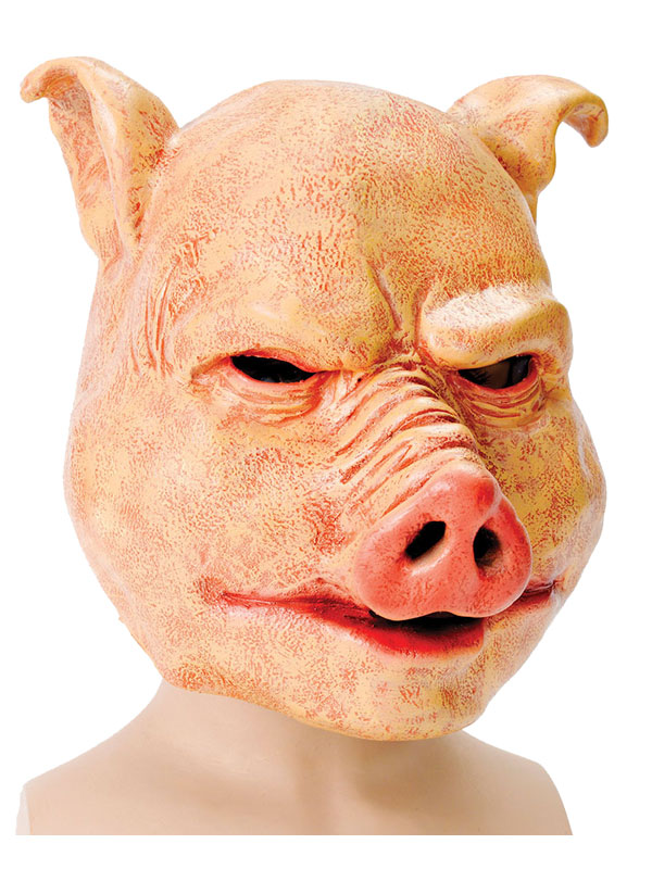 Adult Horror Pig. Latex Mask