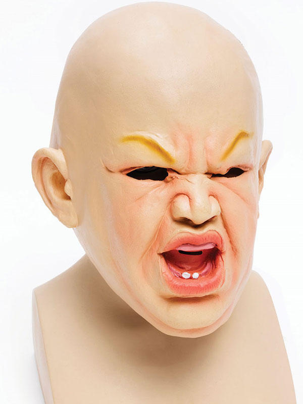 Adult Baby Scary Mask