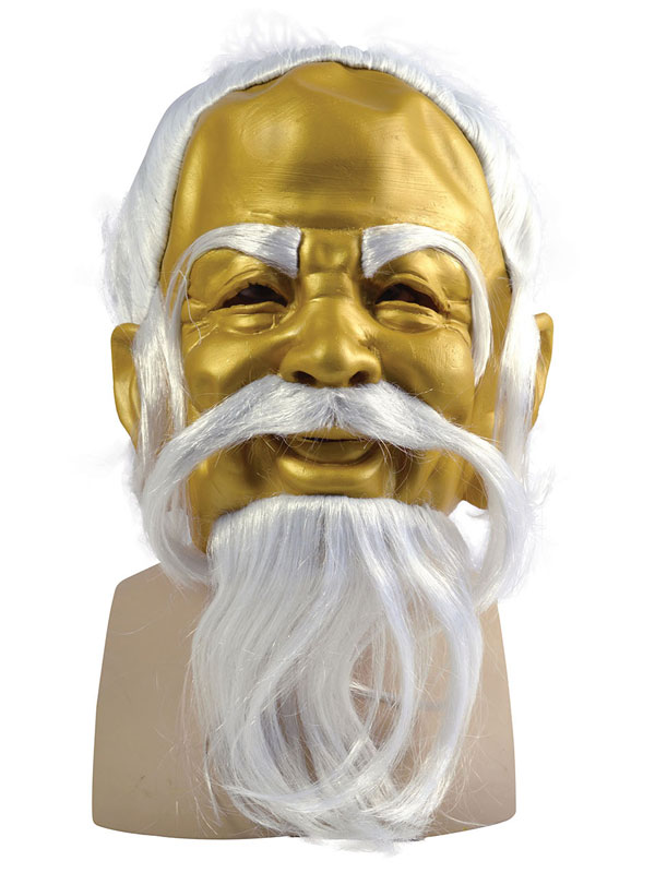 Adult Gold Oriental Master Mask