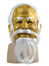 Adult Gold Oriental Master Mask