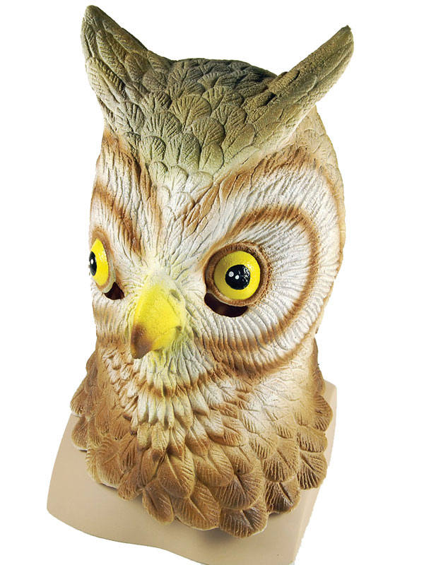 Adult Owl Overhead Mask
