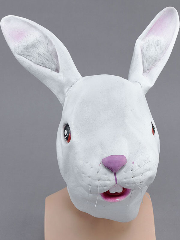 White Rabbit Overhead Mask