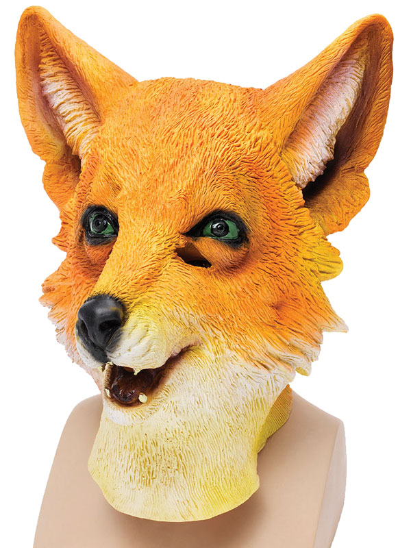Adult Mr Fox Mask