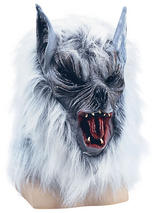 Adult Grey 'Killer' Wolf Budget Mask