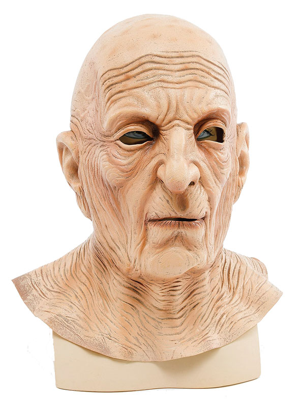 Adult Old Man Wrinkle Neck Mask