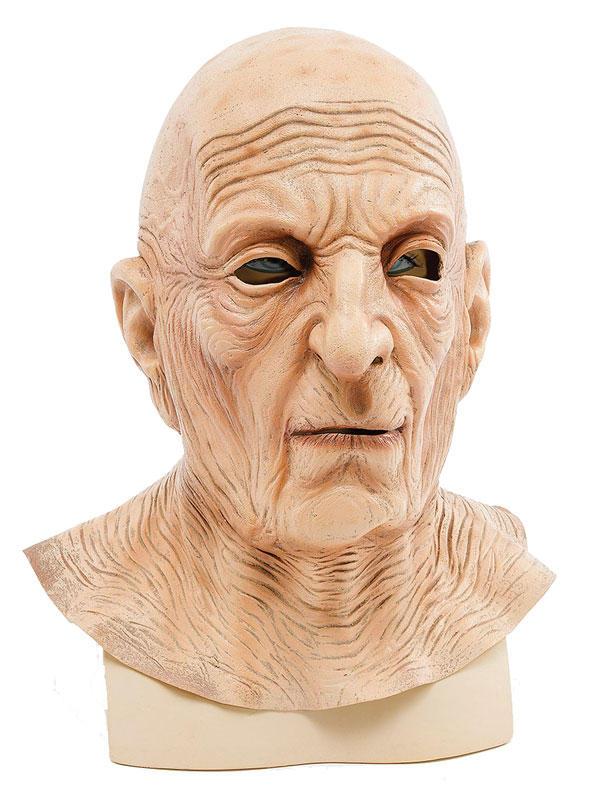 Adult Old Man Wrinkle Neck Mask