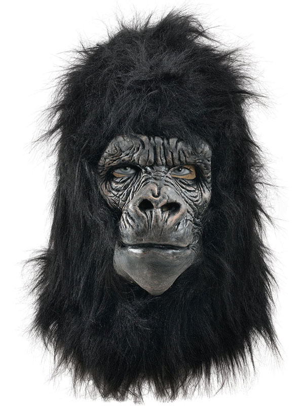 Adult Gorilla Deluxe Mask