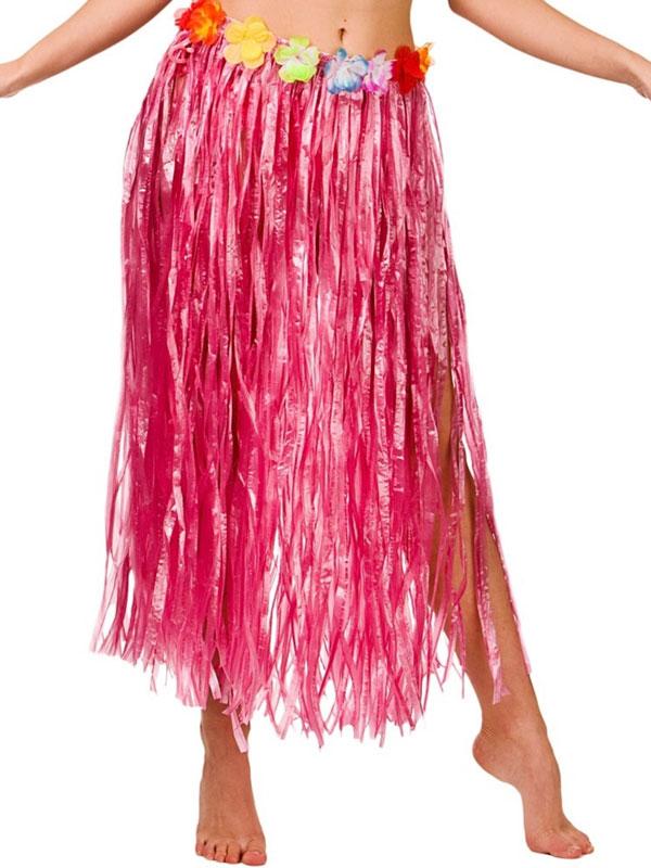 Adult Hula Skirt (Pink)