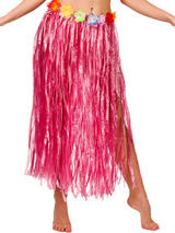 Adult Hula Skirt (Pink)