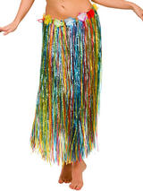 Adult Hula Skirt (Multi)