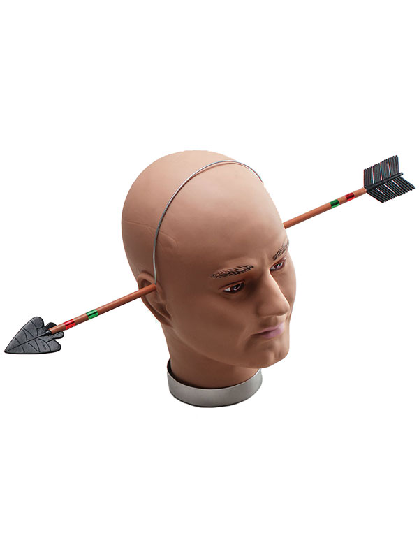 Arrow Through Head Size