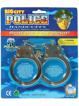 Handcuffs Blister Carded Metal