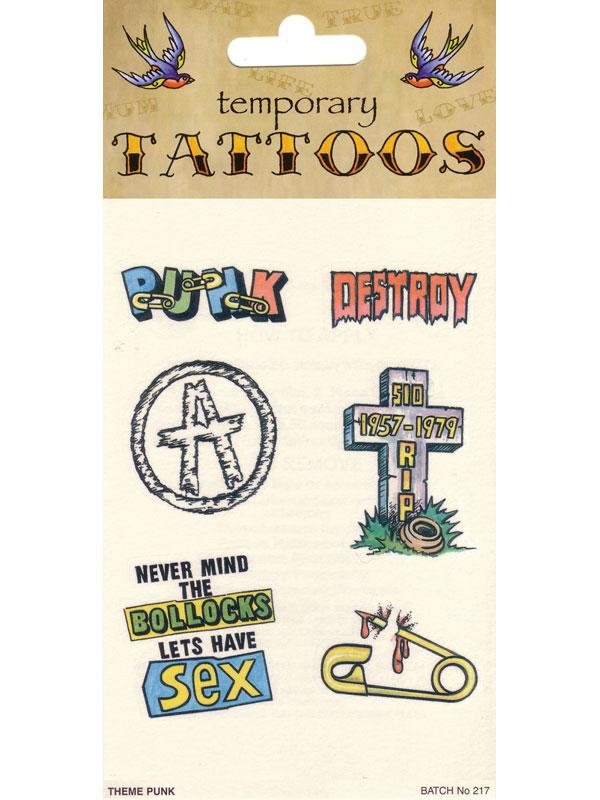 Tattoos Theme Punk Card