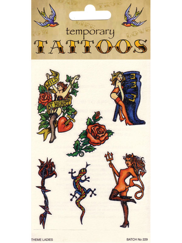 Tattoos Theme Card