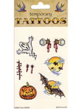 Tattoos Theme Halloween