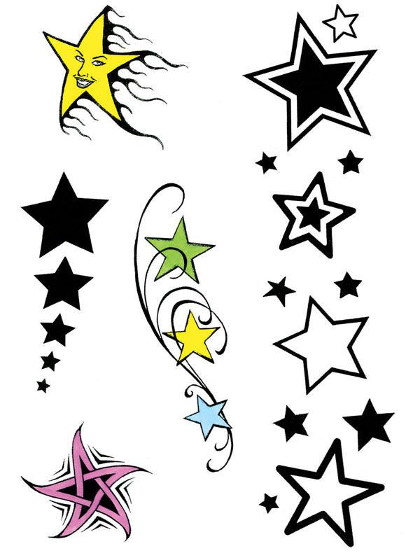 Star Theme Tattoos