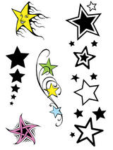 Star Theme Tattoos