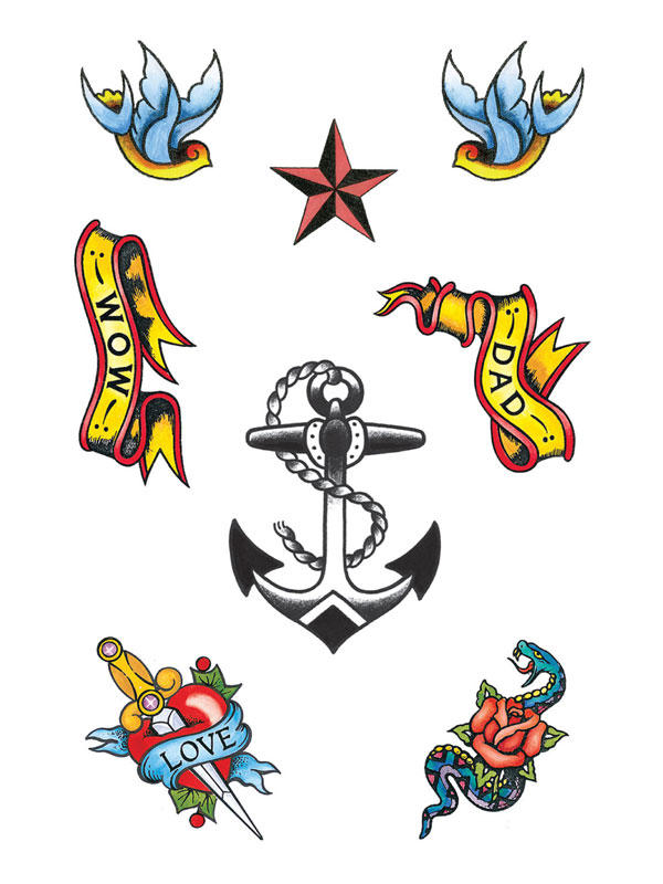 Sailor Theme Tattoos