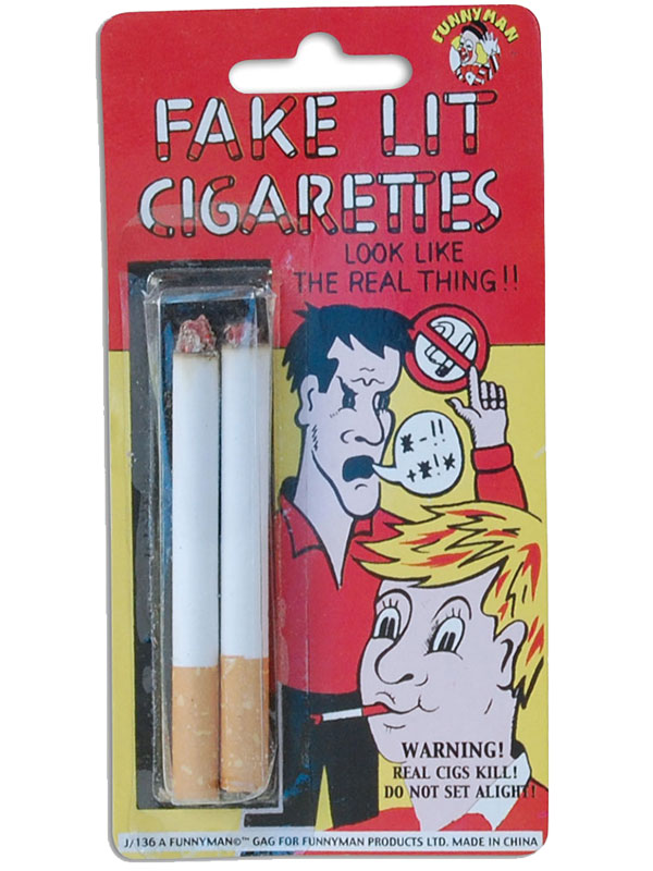 Fake Lit Cigarettes