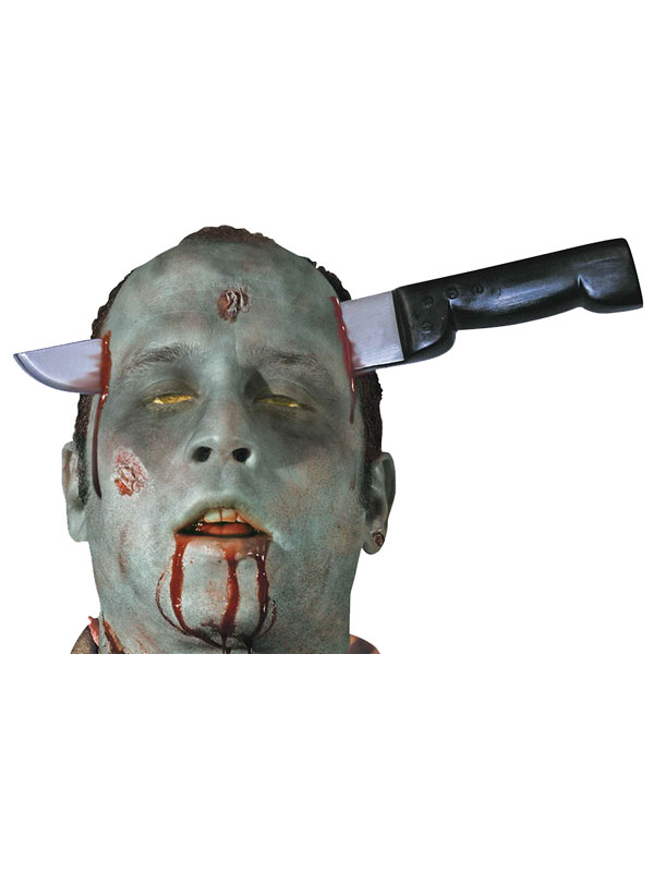 Zombie Knife Thro Head