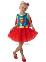 Child Hello Kitty Supergirl Tutu Dress Costume