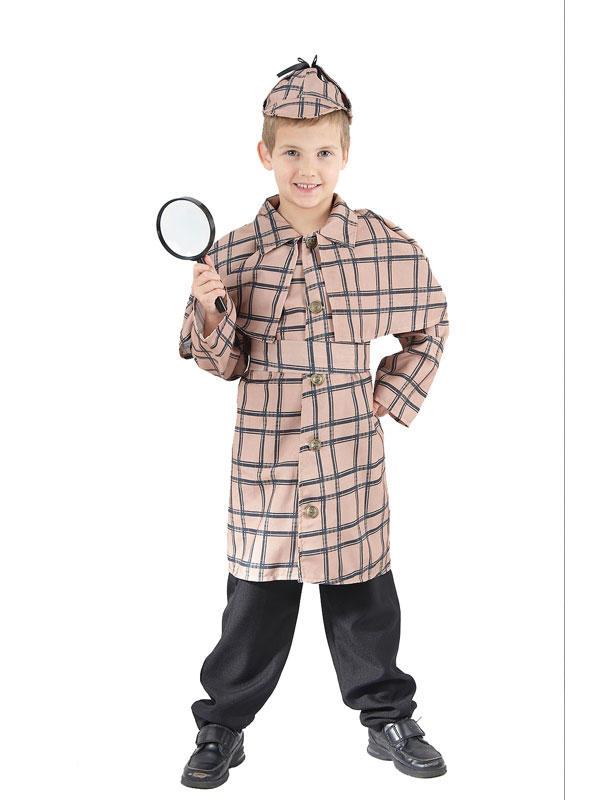 Child Detective Sherlock Holmes Costume