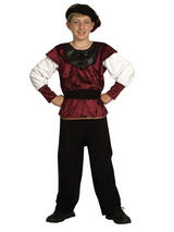 Child Child Renaissance Prince Costume