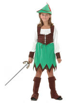 Child Hunter Robin Hood Deluxe Costume