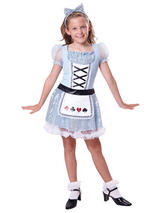Child Card Girl Costume