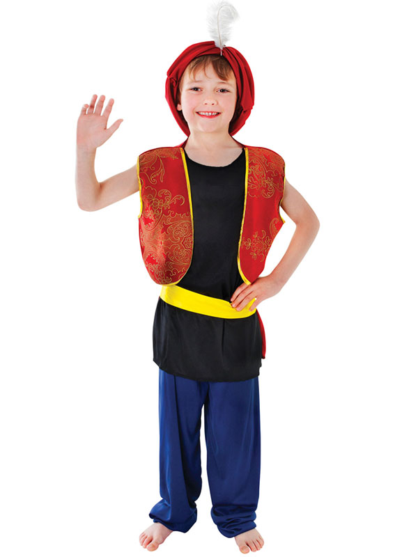 Child Arabian Boy Costume