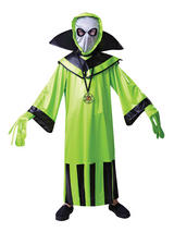 Child Green Alien Costume