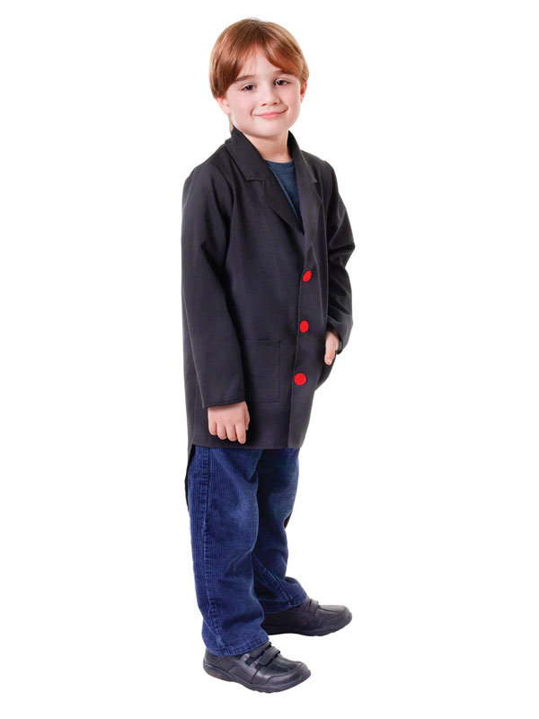 Child Black Tailcoat Costume
