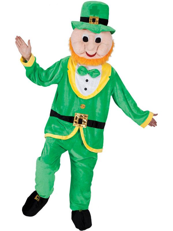 Mascot Lucky Leprechaun Costume