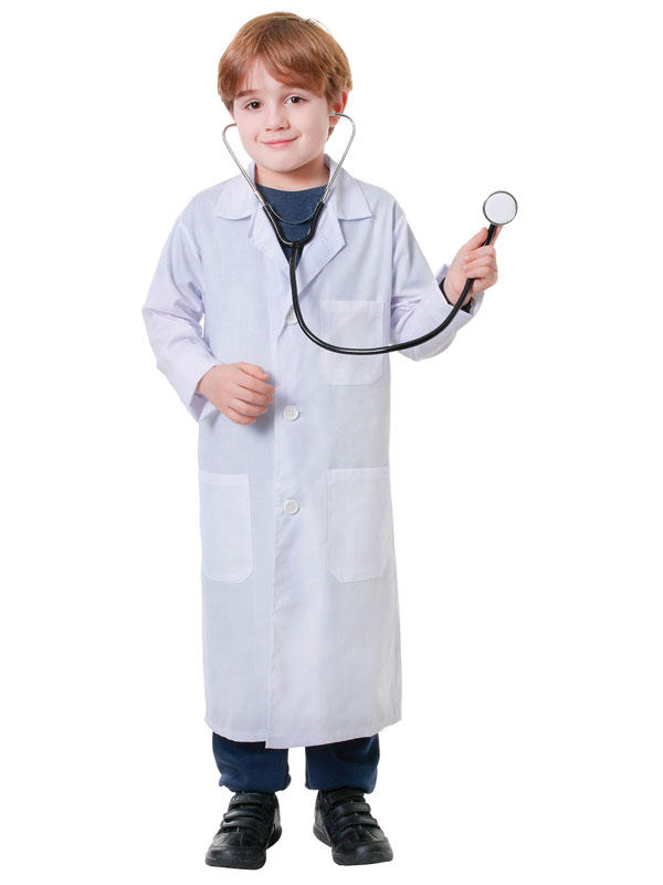 Child Doctor Coat Costume