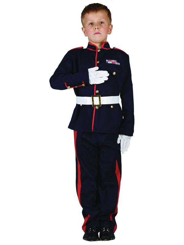 Child Ceremonial Soldier Costume