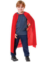 Child Red Superhero Cape