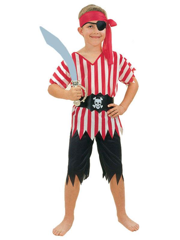 Child Pirate Boy Costume