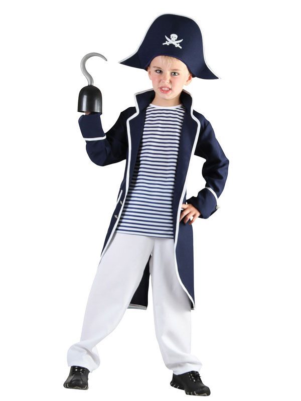 Child Boys Pirate Captain Costume  sc 1 st  Plymouth Fancy Dress & Child Boys Pirate Captain Costume | Pirates | Plymouth Fancy Dress ...