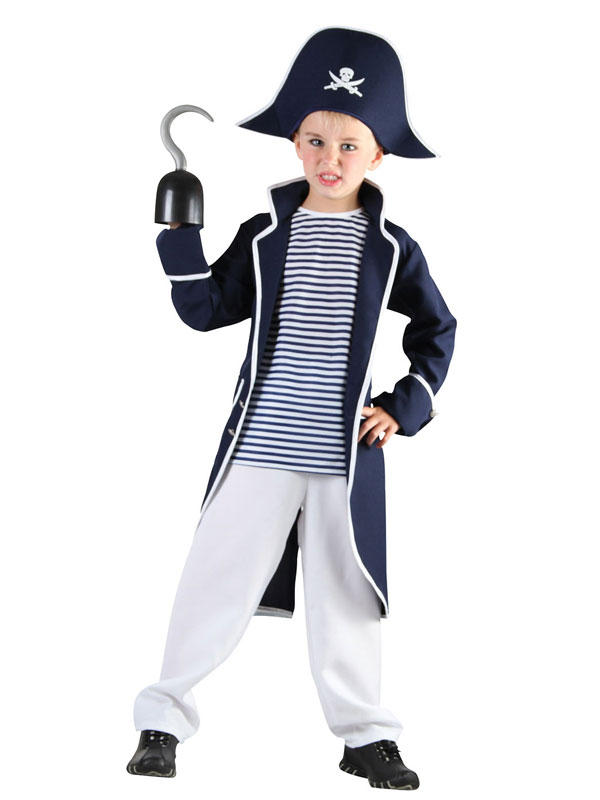 Child Boys Pirate Captain Costume