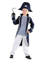 Child Boys Pirate Captain Costume