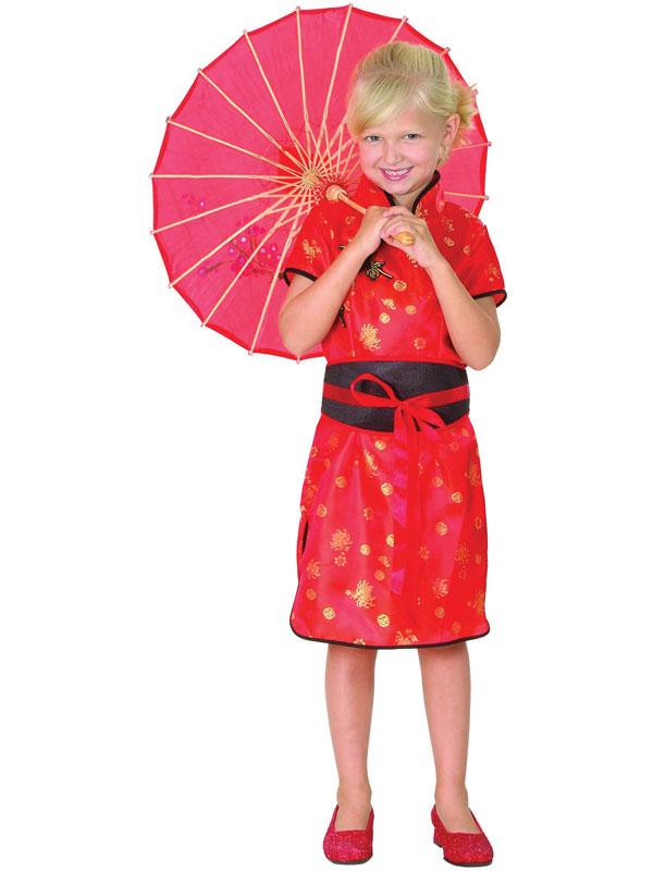 Child Chinese Girl Costume