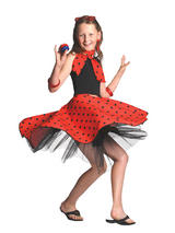 Child Red Rock 'N' Roll Skirt