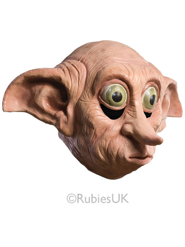 Latex Dobby Mask Costume