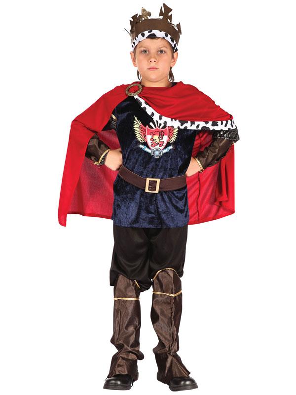 Child Fantasy King Costume