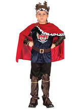 Child Fantasy King Costume