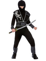 Child Boys Elite Shadow Ninja Costume