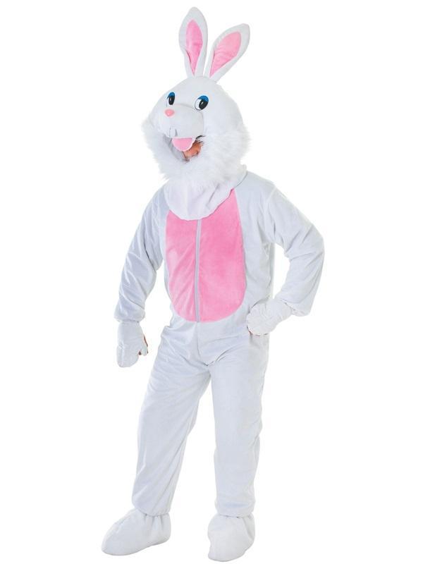 Big Head Rabbit Mascot Costume