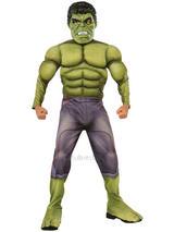 Child Muscle Chest Hulk Costume