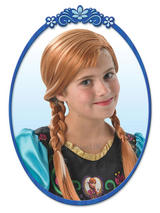 Child Disney Anna Wig Costume