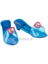 Child Blue Anna Jelly Shoes Frozen